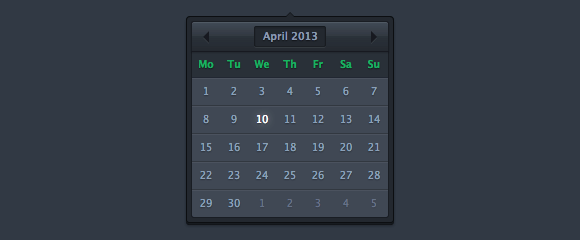 Форма - Тёмный календарь