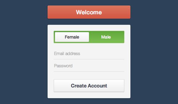 Формарегистрации на HTML