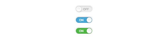 Выключатели на HTML и CSS