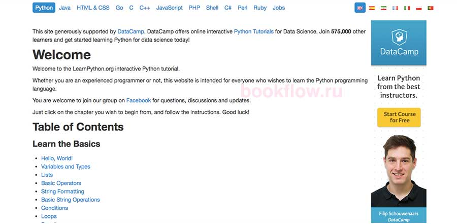 learnpython-org