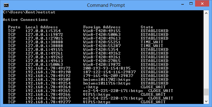 20 команд netstat для управления сетью Linux и Windows