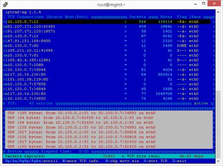 Утилиты командной строки Linux. Мониторинг загрузки сетевого интерфейса