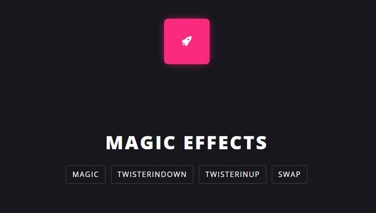4. Magic Animations CSS3