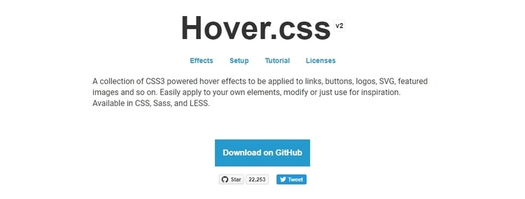 7. Hover.css