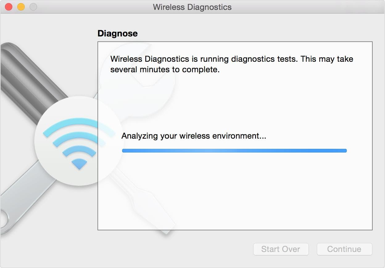 Wireless Diagnostics (macOS)