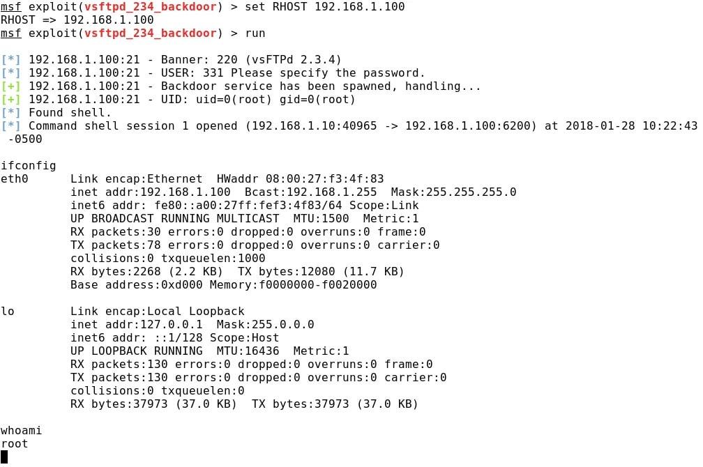 Тест на проникновение с помощью Metasploit Framework: базовое руководство для системного администратора