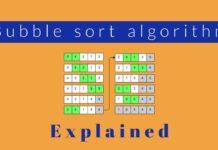 Сортировка массива методом пузырька- решение на C++
