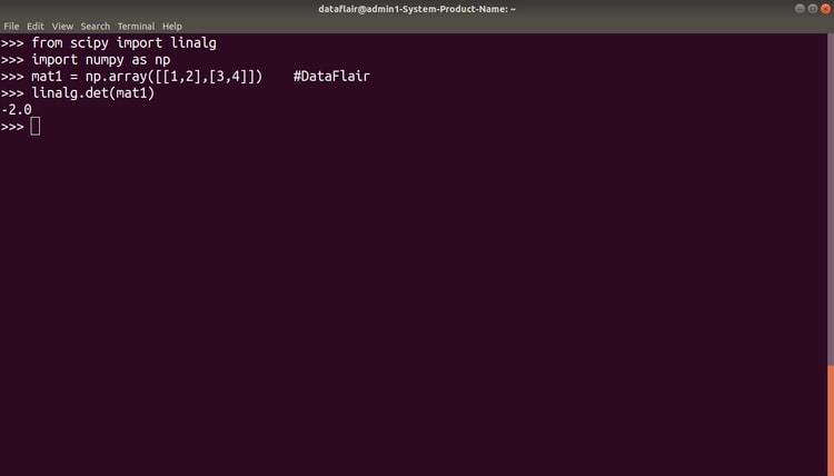 Математические библиотеки Python