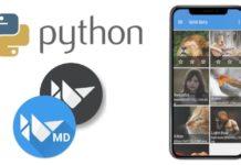 Разработка мобильных приложений на Python. Библиотека KivyMD
