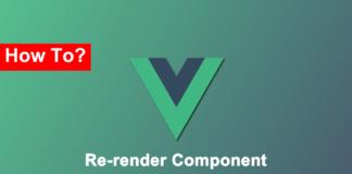Правильный способ заставить Vue перендерить компонент