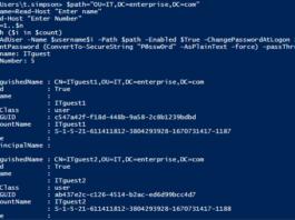 Скрипты Windows PowerShell для работы с Active Directory