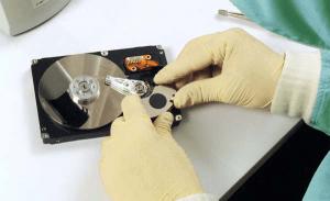 Восстановление данных с жесткого диска