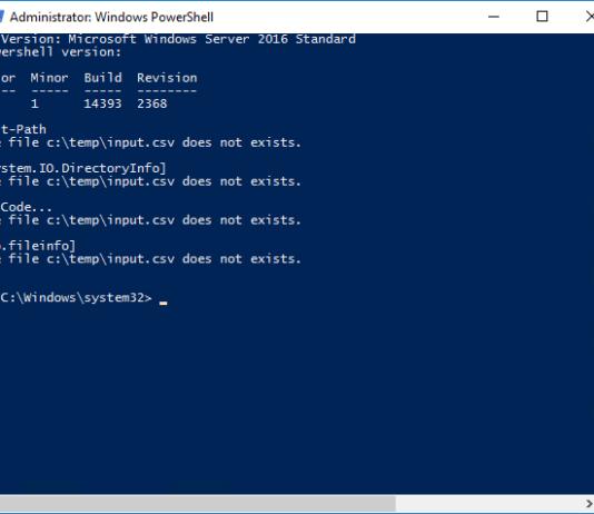 Примеры скриптов PowerShell для системного администрирования