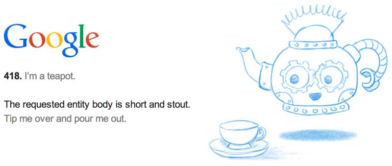 Код 418 I'm a teapot