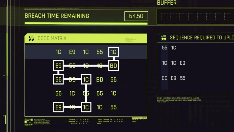 Решаем мини-игру про взлом протокола в Cyberpunk 2077 за 50 строк на Python