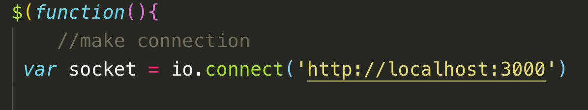 Создание простого приложения для чата с помощью node.js и socket.io