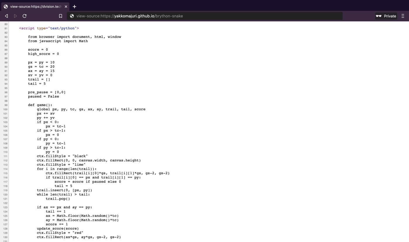 Надоело использовать Javascript для web? Вместо этого используйте браузерный Python