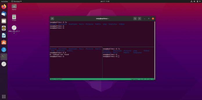 Cписок горячих клавиш в терминале Linux