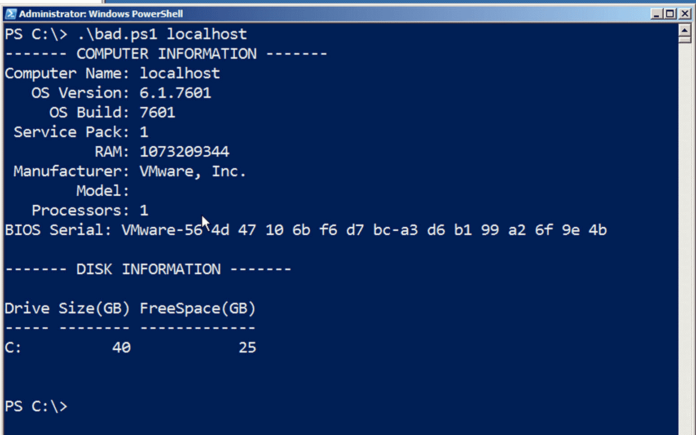 PowerShell: примеры скриптов по сбору информации о компьютерах
